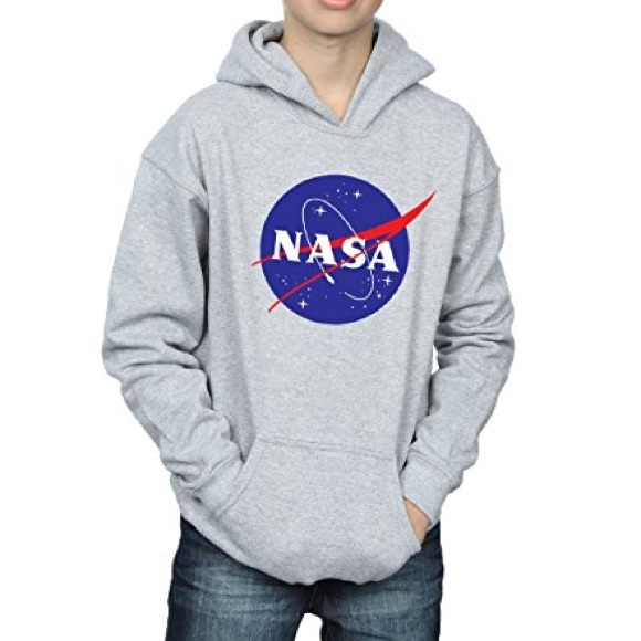 H&M Shirts & Tops | Hm Nasa Hooded Sweatshirt | Poshmark